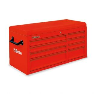 Beta C38T-R Top Chest With Eight Drawers (Red)